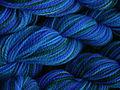 Merino superwash dip dyed 009